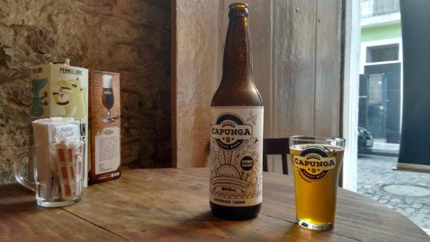 Capunga homenageia no nome o bairro onde funcionou a primeira cervejaria pernambucana. Fotos: Katarina Bandeira/Esp. DP