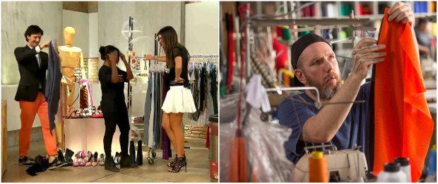 Esquadrão da Moda, no SBT, e Corre e Costura, no Fox Life, são alguns dos programas dedicados à moda na televisão. Fotos: Divulgação