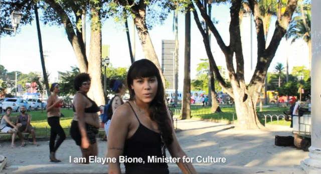 Elayne Bione foi escolhida para o Ministério da Cultura, pasta extinta e posteriormente recriada por Temer. Foto: YouTube/Reprodução