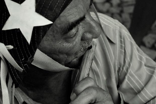 Além do livro Pífanos do Sertão, produtora Página 21 coletou um vasto material audiovisual sobre o pífano. Foto: Amaro Filho/Divulgação