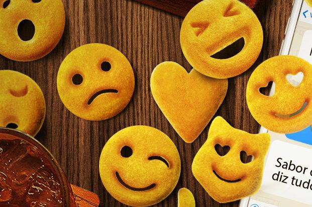 """Batatas são inspiradas nas """"carinhas"""" da internet. Foto: Outback Steakhouse/Divulgação"""
