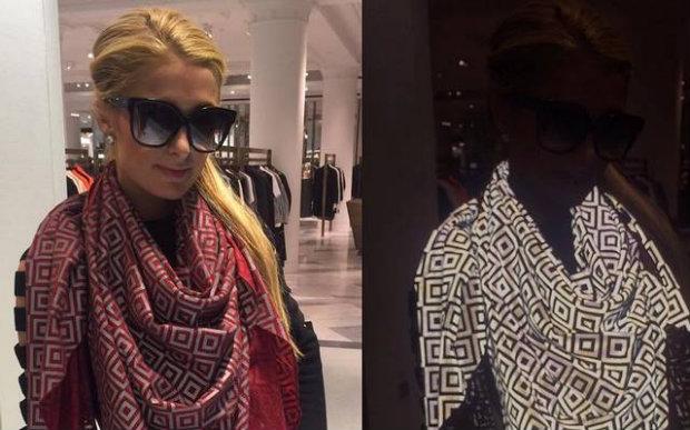 Celebridades como Paris Hilton e Rihanna já têm utilizado o lenço inovador. Foto: ISHU/Divulgação