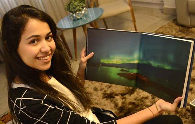 Camila vai para Oslo para matar a saudade do marido. Foto: André Violatti/Esp. CB/D.A. Press