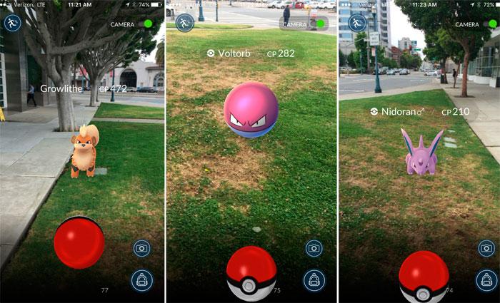 Nos Estados Unidos, o jogo de realidade aumentada Pokemon Go já é mais popular que o Tinder. Foto: Reprodução