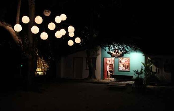 Iluminação noturna do centro histórico. Foto: Rodolfo Vilela/MTur