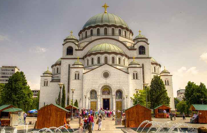 Templo de São Sava é um dos pontos turísticos em Belgrado, Sérvia. Foto: Ultra Panavision/Flickr