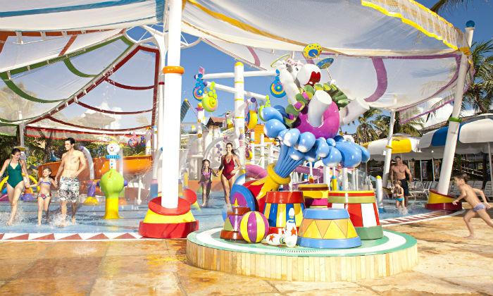 Acqua Circo é uma das atrações voltadas para a criançada. Foto: Divulgação