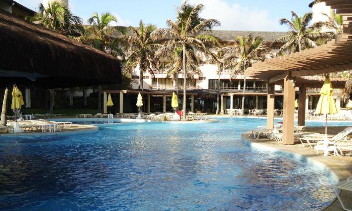 Do Suites Beach Park Resort é possível ir a pé para o Beach Park ou ficar curtindo a piscina