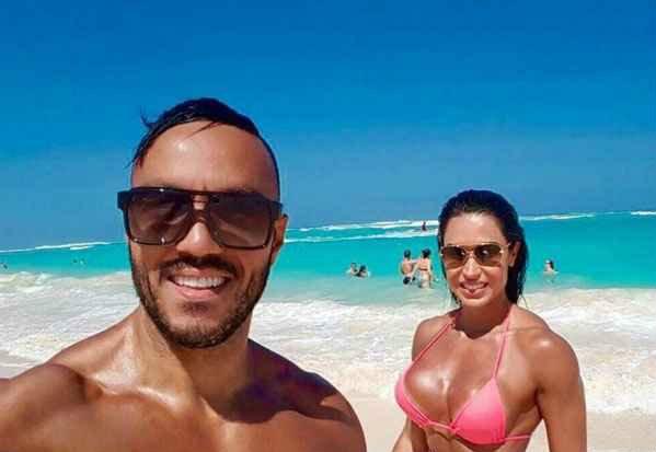 Belo chegou a pensar que a esposa havia sido sequestrada. Foto: Instagram/Reprodução