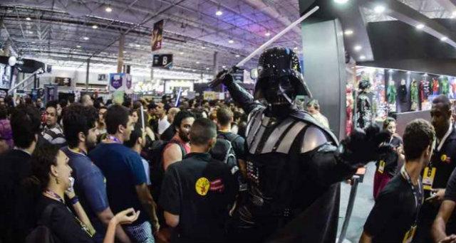 Feira também é conhecida pelos cosplays. Foto: David Deak/Divulgação