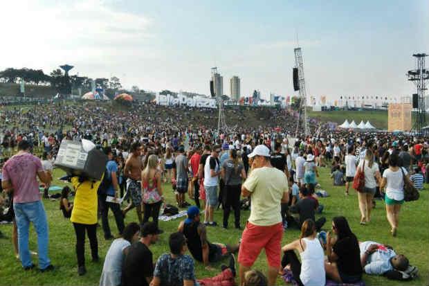 Sexta edição do Lollapaloza acontece nos dias 25 e 26 de março de 2017, em São Paulo. Foto: André Tambucci/ Fotos Públicas