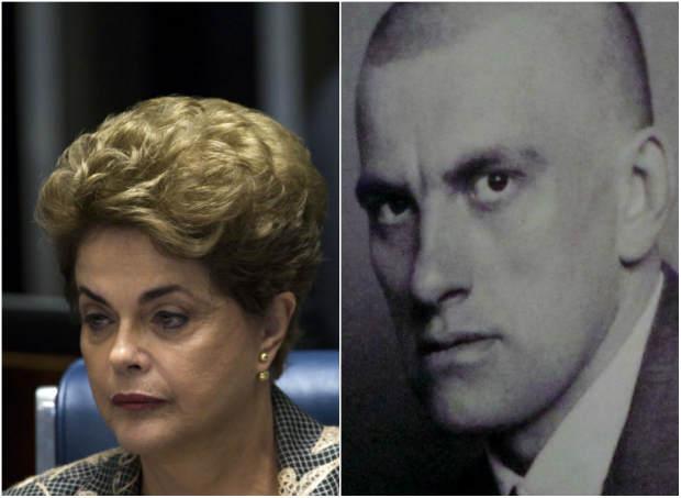 Dilma escolheu trecho de poema escrito por um dos símbolos da Revolução Bolchevique, na antiga União Soviética. Fotos: Marcelo Camargo/ Agência Brasil e Internet (Reprodução)