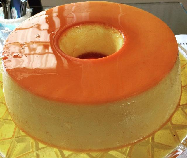Receita tradicional do pudim de leite é simples e leva poucos ingredientes. Foto: Arquivo Pessoal.