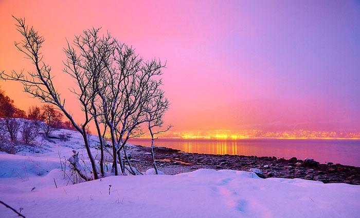 A Noruega é um país de muitas belezas naturais. Foto: Moyan Brenn/ Flickr/Reprodução