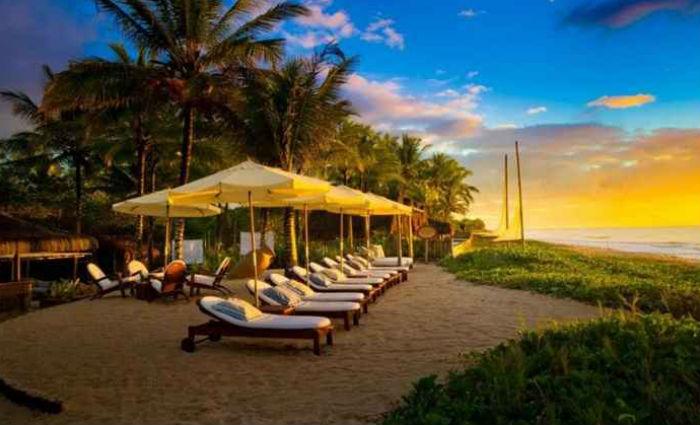 As praias são alguns dos locais preferidos e Trancoso, na Bahia, é uma das que conquista quem imagina um clima paradisíaco. Foto: Villas de Trancoso/Reprodução