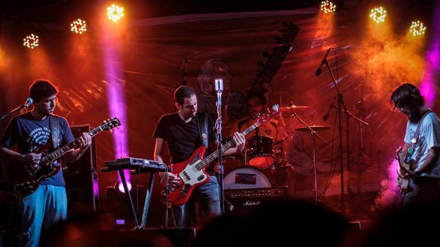 A banda Hazamat é uma das atrações do Rock na Calçada neste final de semana. Foto: Facebook/Reprodução