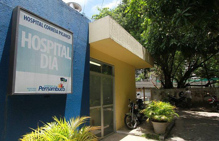 Um dos presos morreu ontem e o outro permanece internado no Hospital Correia Picanço. Foto: Annaclarice Almeida/ DP