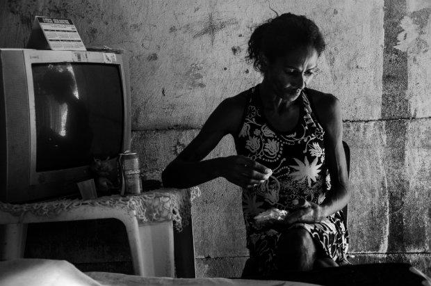 Mariana, uma das figuras retratadas em imagem e texto. Foto: Chico Ludermir/Divulgação