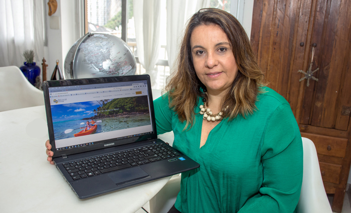 Para a fundadora Andrea Aguiar, com o dinheiro economizado, os viajantes podem ficar mais tempo e explorar mais de um destino. Foto: Divulgação