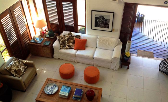 A ideia de se hospedar em uma casa ou apartamento garante mais conforto e privacidade. Foto: Divulgação