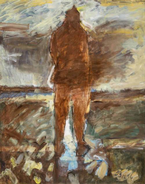 Francisco Brennand tem em cartaz a exposição 'As névoas de Caspar', em homenagem ao alemão Caspar David Friedrich. Créditos: Robson Lemos/Divulgação