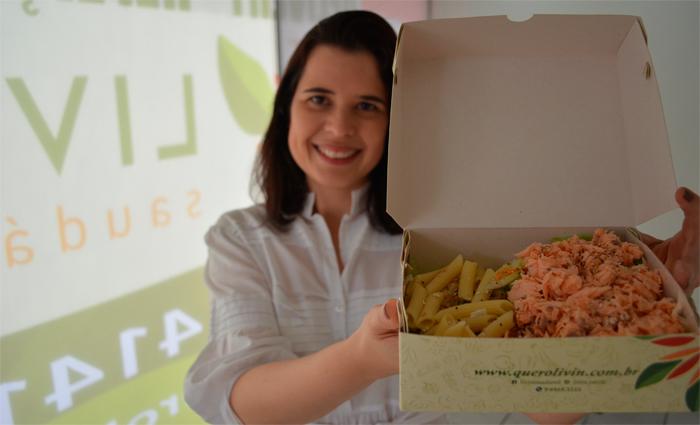 Priscila Assis, nutricionista, afirma que as pessoas têm começado a retirar as proteínas naturais da dieta em busca de uma vida mais saudáve. Foto: Malu Cavalcanti/ Esp. DP