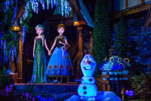 Frozen Ever After, no Epcot, é atração disputadíssima da Disney. A abertura aconteceu no primeiro semestre de 2016. Crédito: Divulgação Walt Disney World (Divulgação Walt Disney World)