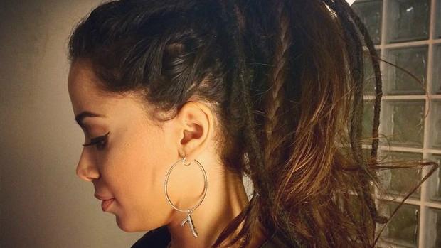 Cantora usou o look para gravação do Altas Horas, na Rede Globo. Foto: Reprodução/Instagram