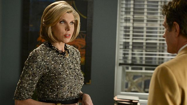 Christine Baranski volta ao papel que interpretou por sete temporadas. Foto: CBS/Reprodução