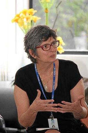 """""""Estou grata e entendo que esse foi o reconhecimento de um trabalho coletivo, não só de nós pesquisadores, mas de todos os profissionais de saúde envolvidos"""" - Celina Turchi, médica e pesquisadora da Fiocruz Pernambuco. Foto: Ascom Fiocruz-PE/Divulgação"""
