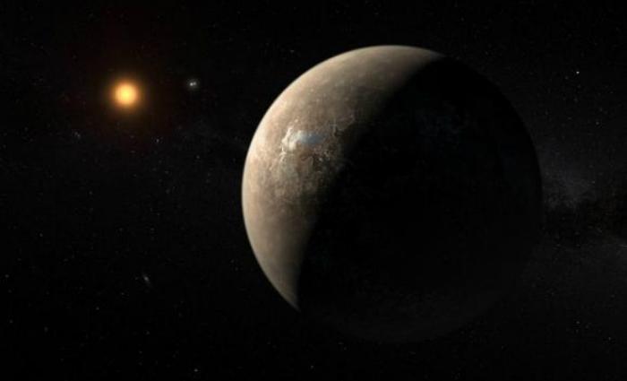 O exoplaneta %u201CProxima B%u201D foi descoberto pelo Observatório Europeu do Sul (ESO, na sigla em inglês). Foto: ESO/Reprodução (O exoplaneta %u201CProxima B%u201D foi descoberto pelo Observatório Europeu do Sul (ESO, na sigla em inglês). Foto: ESO/Reprodução)