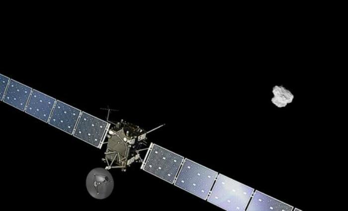 Sonda Rosetta encerra missão após 12 anos. Foto: ESA/Reprodução (Sonda Rosetta encerra missão após 12 anos. Foto: ESA/Reprodução)