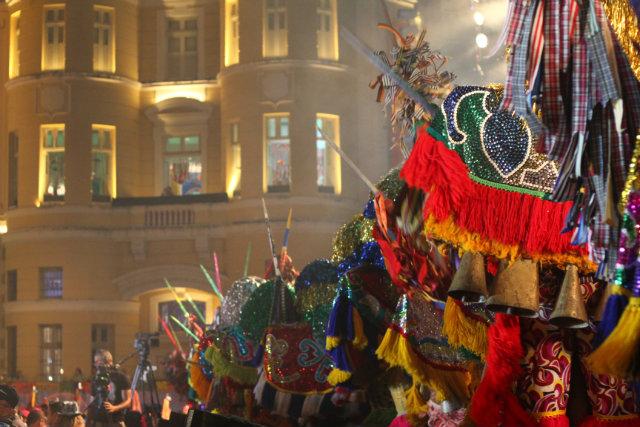 Sem Naná Vasconcelos, nações de maracatu se reunirão em cortejo até o Marco Zero na abertura do carnaval. Foto: Diego Nigro/Divulgação
