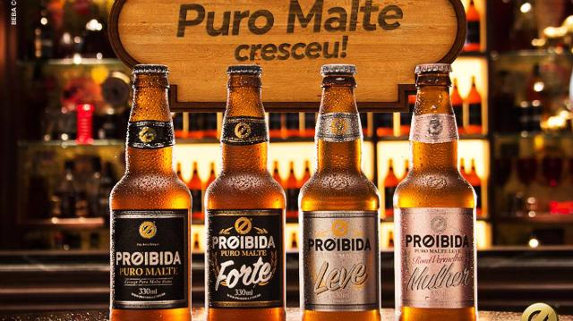 Anúncio das novas cervejas foi feito no Facebook da marca na última terça-feira (3). Foto: Facebook/Reprodução