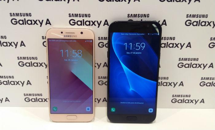 Smartphones têm processador Octa-core 1.9 GHz e vêm com 32 GB de armazenamento, além de 3 GB de memória RAM e contam com memória expansível a 256 GB. Foto: Luciana Morosini/DP