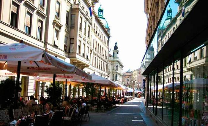 Na capital Zagreb, os charmosos bares convidam para uma pausa. Foto: Anselmo Sousa/Flickr