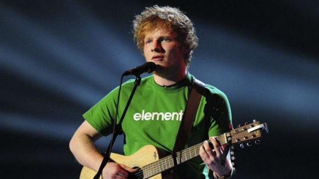 Ed Sheeran é confirmado na sétima temporada de Game of Thrones. Foto: AFP/Reprodução