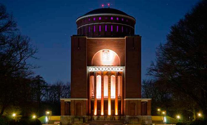 Planetário de Hamburgo (Alemanha). Foto: Iron Owner/Flickr/Reprodução