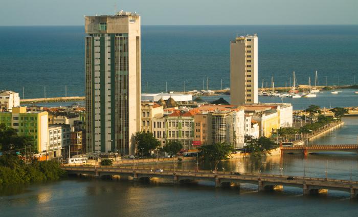 Desde 2000, o Porto Digital ocupa o antigo prédio do Bandepe, em cessão feita pelo governo. Foto: Porto Digital/Divulgação