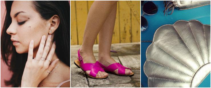 Tout Joalheria Artesanal, Vitalina e Gene Handbags estão entre as marcas participantes da Casa Viva. Fotos: Facebook/Reprodução