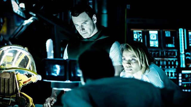 Michael Fassbender e Carmen Ejogo vivem Walter e Karine no novo Alien. Foto: Fox/Divulgação