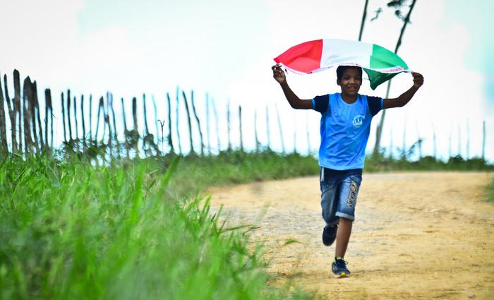 Ailton José, estudante de escola pública, diz que tem muitos sonhos para realizar quando terminar o curso de italiano. Foto: Paulo Paiva/DP (Ailton José, estudante de escola pública, diz que tem muitos sonhos para realizar quando terminar o curso de italiano. Foto: Paulo Paiva/DP)