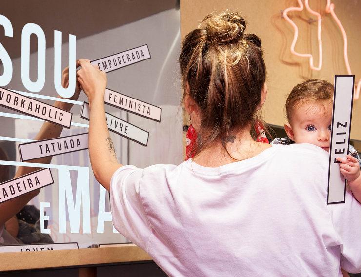 A Melissa foi uma das marcas que apostou na valorização dos diferentes estilos e padrões de comportamento, pregando a liberdade para as mães. Foto: Melissa/Divulgação