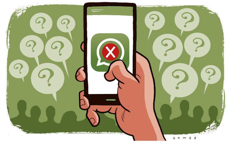 Usuários reclamam que aplicativo de mensagens apresenta instabilidade - Foto: Caio Gomez/D.A/D.B/PRESS