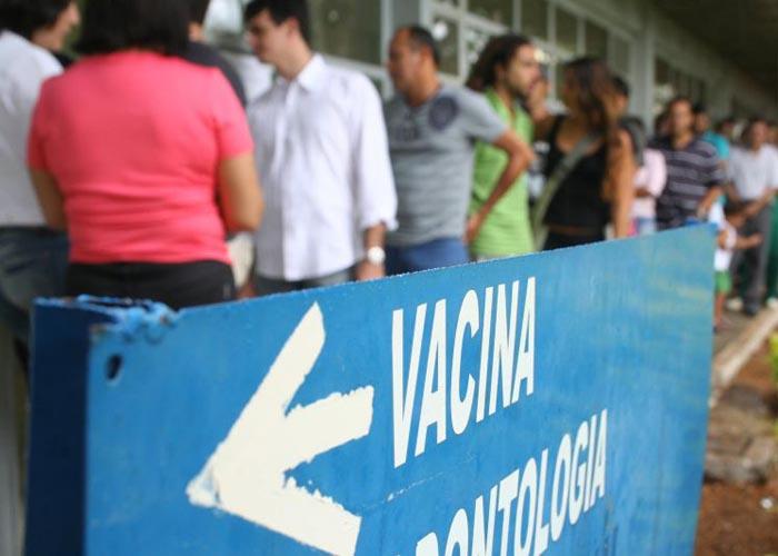 Campanhas de vacinação brasileira são um ponto de destaque: pontuação máxima contra a difteria. Foto: Monique Renne/Esp.CB/D.A Press