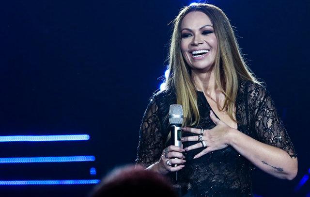 Em fevereiro, ela gravou o primeiro DVD da carreira solo, com a participação de diversos artistas. Foto: Manuela Scarpa/Divulgação