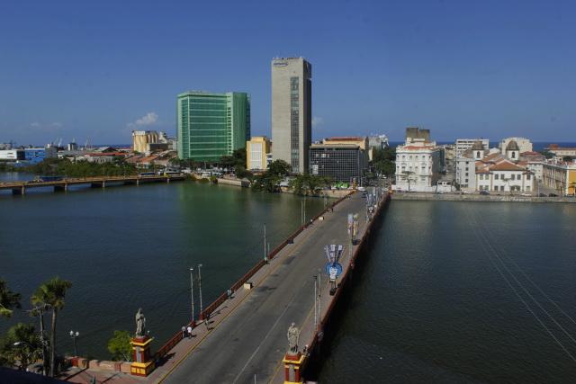 Ponte Maurício de Nassau atualmente. Foto: Shilton Araújo/Esp. DP.
