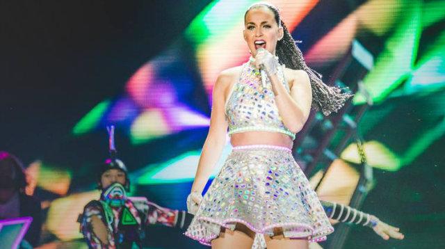 Em 2015 Katy Perry se apresentou no Rock in Rio com a turnê do disco 'Prism' (2013).  Foto: Raul Aragão/I Hate Flash/Divulgação
