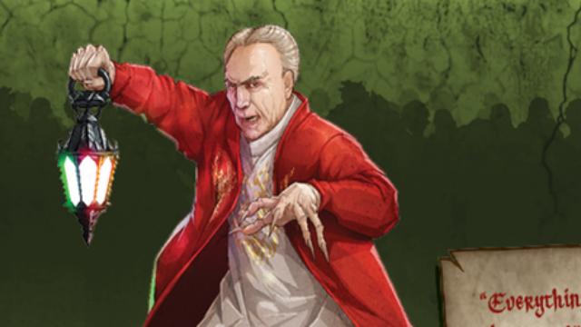 Nova edição do jogo Zombicide trará Conde Temeraire, personagem semelhante ao presidente Michel Temer. Foto: CMON/Divulgação.