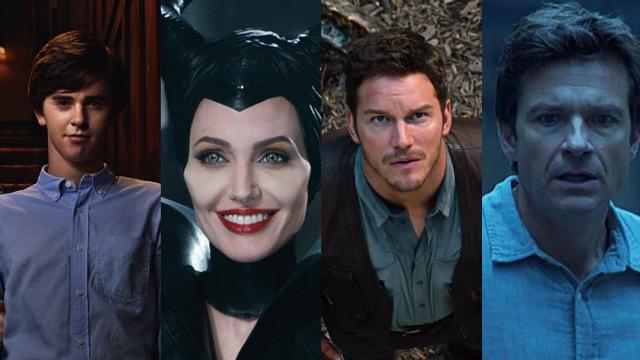 Bates motel, Malévola, Jurassic world e Ozark poderão ser conferidos pelos assinantes. Fotos: Netflix/Divulgação